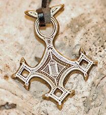 Amulett Messing KREUZ DER TUAREG Talisman
