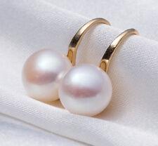 1 Pair Elegant Pearl Crystal Rhinestone Ear Stud Earrings Women Fashion Jewelry