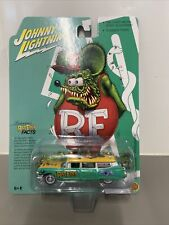 Johnny Lightning 1 64 1959 Cadillac Hearse Ambulance Rat Fink Special Editon