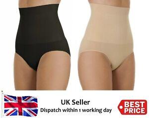 New Womens Firm Control High Waist Shapewear Seamfree Slimming Briefs Tummy Tuck