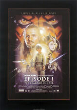 STAR WARS REPRO 1999 THE PHANTOM MENACE A3 FILM MOVIE POSTER . NOT DVD