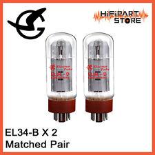 2pcs Shuguang El34B Matched Pair Valve Tube Replace Eh Tung-Sol Mullard Jj 6Ca7