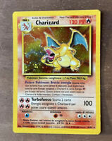 Pokemon Card CHARIZARD HOLO ITA SET BASE 4/102 NM+