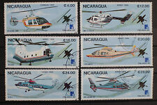 Nicaragua 1988 Aviation Helicopters  Used