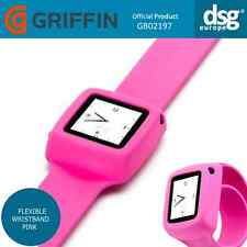 Véritable griffin slap ipod nano (6th génération) flexible bracelet rose