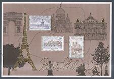 2016 Bloc F 5048 Paris-Philex doré - Monuments de PARIS ** LUXE MNH