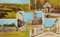 Vintage Multi View Postcard, Greetings from Kington, Herefordshire 21W
