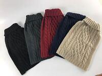 "Dog Puppy Jumper Sweater Soft Knit Warm Wagytail 10"" to 23""- NEW"
