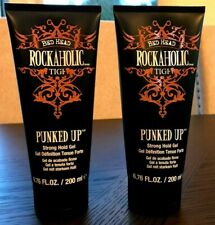 NEW 2 Bed Head Rockaholic Punked Up Strong Hold Styling Gel 6.76 Oz/each
