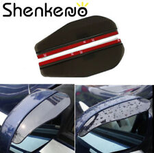 2PC Car Universal Rear View Side Mirror Rain Snow Guard Sun Visor For Suzuki BMW
