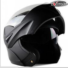 DOT Dual Visor Flip Up Motorcycle Helmet Headwear Full Face Bike Helmets US Ship