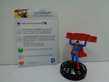 Heroclix - SUPERMAN - World's Finest - #017a Uncommon Figure & Card