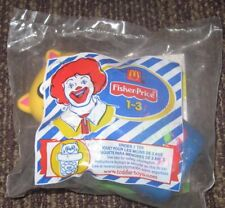 2003  Fisher Price McDonalds Happy Meal Under 3 Toy - Cat In Flower Pot
