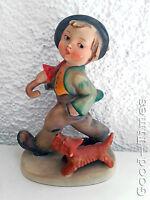 12 cm -Wanderbub mit Hund -Doppelkrone - original - Hummel Figur- Hummmel 5