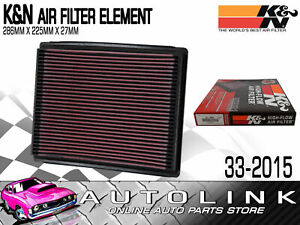 K&N KN33-2015 Air Filter for Ford Fairlane NC NF NL & AU 4.0L 6cyl VCT & 5.0L V8