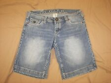 Industrial Cotton Stretch Denim Shorts -Jrs. 3