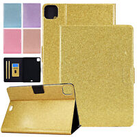 "For iPad Air 4th Gen 10.9"" 2020 Sparkle Magnetic Folio Leather Stand Case Cover"