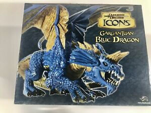 Dungeons & Dragons Icons Gargantuan Blue Dragon *Sealed* Limited Edition 2007
