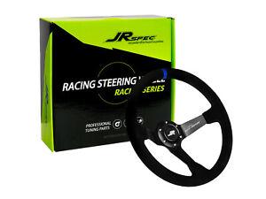 JRspec sports race drift steering wheel 350mm diameter 80mm offset