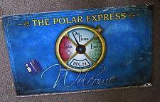 LIONEL THE POLAR EXPRESS CONDUCTORS WATCH DOOR MAT entrance rug 9-33091 NEW