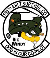 Helicopter Vietnam 129th Bite and Strike Sticker