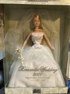 Barbie Romantic Wedding 2001 Bridal Collection 2nd in Series NEW IN BOX (#29438)