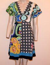 "BN Desigual collection Elegant & Stylish dress ""Robe Noir"" motif ""Small"""