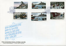 Sweden 2017 FDC Per Anders Fogelstrom 100 Years 6v Set Cover Literature Stamps