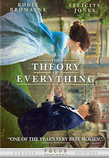 The Theory of Everything (DVD, 2015)FREE FIRST CLASS SHIPPING !!!!!