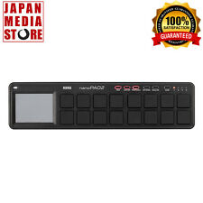 KORG USB MIDI NANO PAD2 nanoPAD2 Controller Black 100% Genuine Product