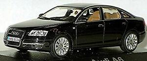 Audi A6 Limousine C6 Type: 4F 2004-08 Ebony Black 1:43