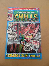 Chamber Of Chills 1 . Harlan Ellison Adaptation . Marvel 1972 . FN / VF