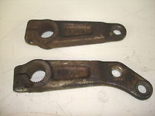 1980 80 YAMAHA 250 ENTICER ET250 LEFT RIGHT FRONT STEERING SPINDLE ARM 77 78 79
