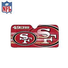New NFL San Francisco 49ers Car Truck Windshield Folding SunShade Large Size