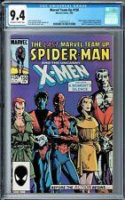 Marvel Team-Up #150 CGC 9.4 (Feb 1985, Marvel) Last Issue, Spider-Man, X-Men app
