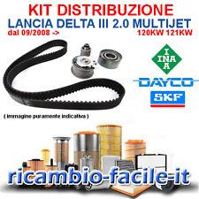 KIT DISTRIBUZIONE LANCIA DELTA III 2.0 MULTIJET 120 121 KW NUOVO ADATT. 71754563