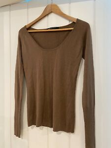 Kirrily Johnston Cashmere and Silk jumper- Size 10