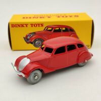 DeAgostini 1/43 Dinky Toys 24K Peugeot 402 Red Diecast Models Limited Collection