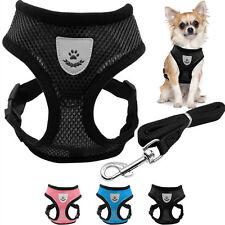 Pettorina rete traspirante+guinzaglio imbracatura passeggio estate cane cani