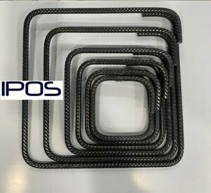 IPOS Bügel Betonstahl geschlossener 8mm 10er Pack Bewehrungsstahl Moniereisen