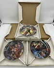 Hamilton Collection THE STAR WARS TRILOGY ~ Complete Set of 3 Collectors Plates