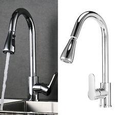 """Robinets d'évier de robinet d'eau de rotation cuisine avec pulvérisateur (G3/8"""")"""