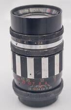 Accura Supertel 105mm F2.4 T/T2 Universal Prime Lens & Pentax M42 Camera Mount
