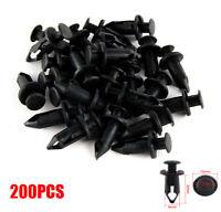 200Pcs 8mm Rivet Fairing Body Trim Panel Fastener Clips For ATV UTV Universal