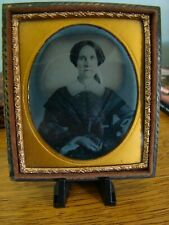 Daguerreotype Woman Unidentified From Shattuck Family New Hampshire