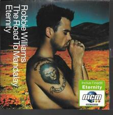 CD SINGLE 2 TITRES--ROBBIE WILLIAMS--THE ROAD TO MANDALAY--2001--NEUF / SEALED