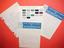 1955-1965 PEUGEOT 203 403 CONVERTIBLE 404 FAMILY SEDAN STATION WAGON PAINT CHIPS