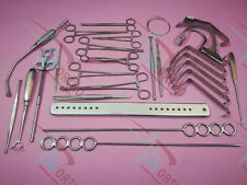 Tonsillectomy Set of 20 Pieces ENT Surgical Instruments Good Quality