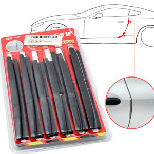 XUKEY Car Edge Door Protector Anti-Collision Scratch Rubber Strip Trim Molding