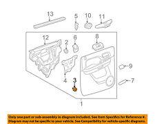 GM OEM Front Door-Door Trim Panel Lower Retainer 11519031